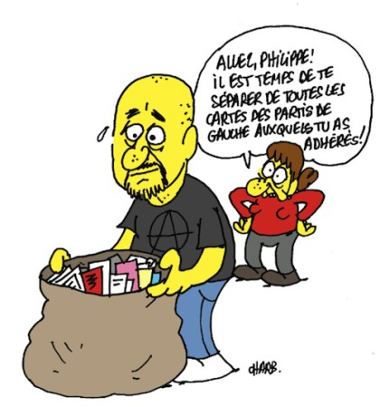 Phil Noir - Philippe CORCUFF/dessin de CHARB