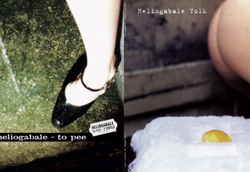 Heliogabale_Yolk + To Pee_2LP
