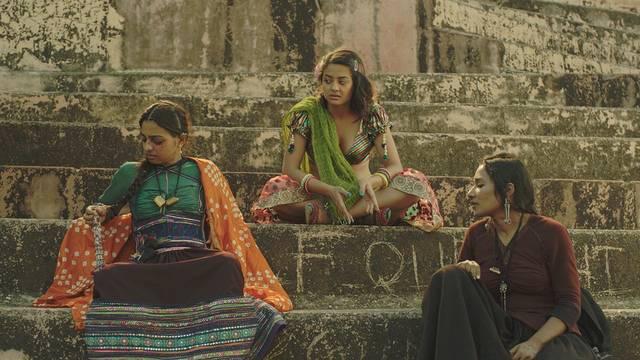 Une scène du film indien : La saison des femmes