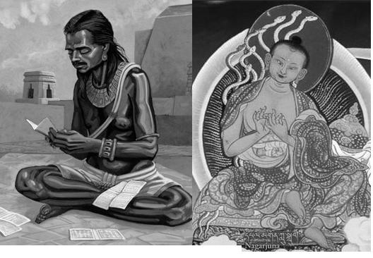 Brahmagupta et Nagarjuna
